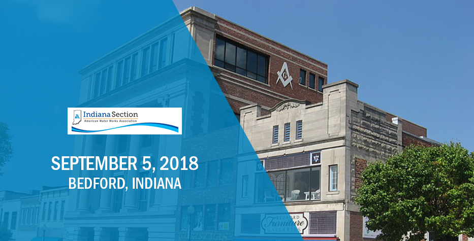 Indiana Section AWWA Southwest District Fall Meeting: September 5, 2018