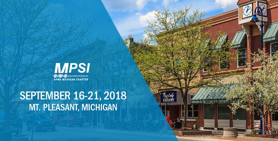 Michigan Public Service Fall Institute: September 16-21, 2018
