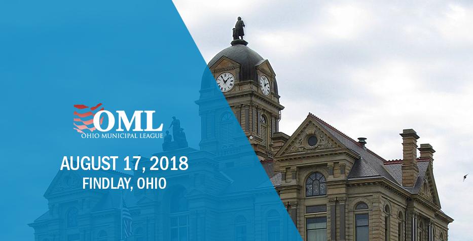 Ohio Municipal League Regional Conference: August 17, 2018