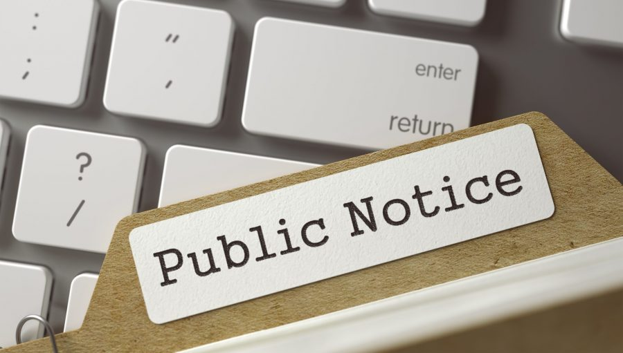Public Notice: Three Rivers, Michigan CWSRF Project Plan